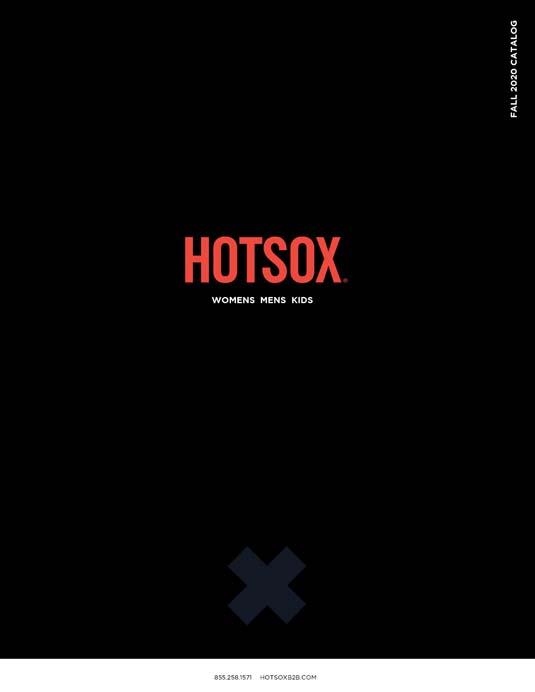 Hot Sox Catalog Cover