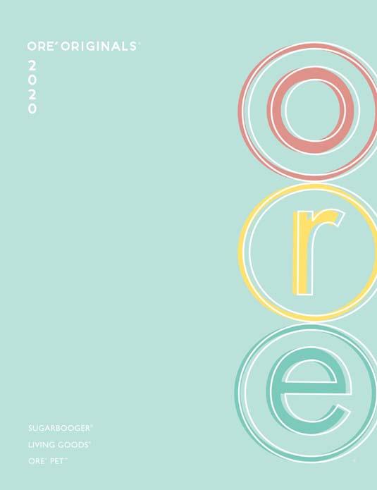 Ore Originals Catalog Cover