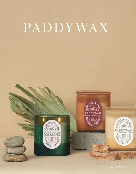 Paddywax Catalog Cover