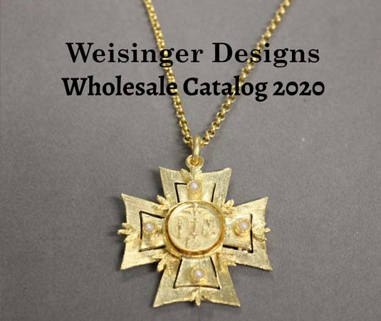 Weisinger Designs catalog cover