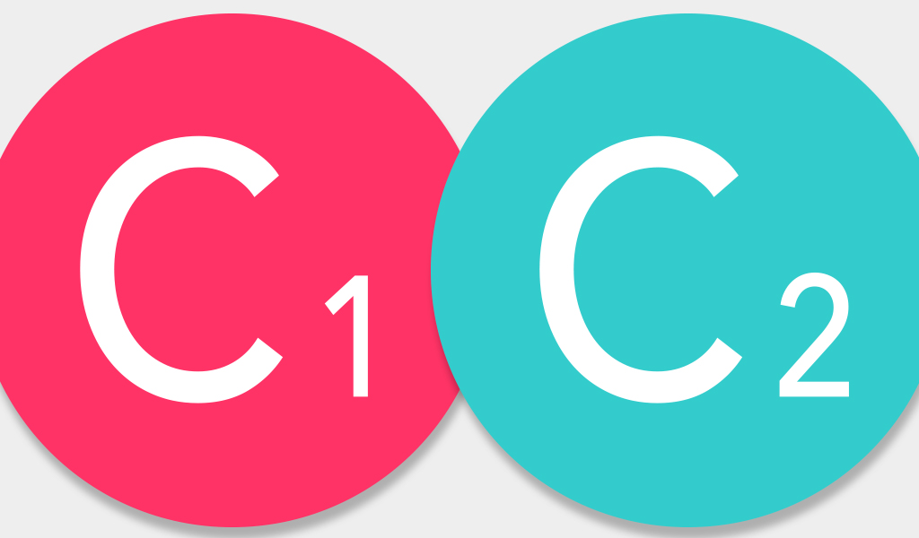 icons of C1 and C2 divisions