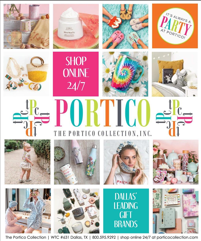 Portico LookBook cover - summer 2020